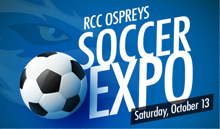Come kick it at the soccer expo sponsored by RCC Foundation