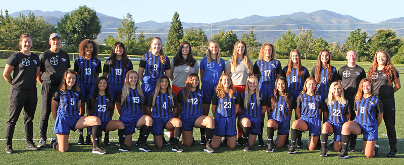 Rogue Community College Ospreys Womens Soccer Team